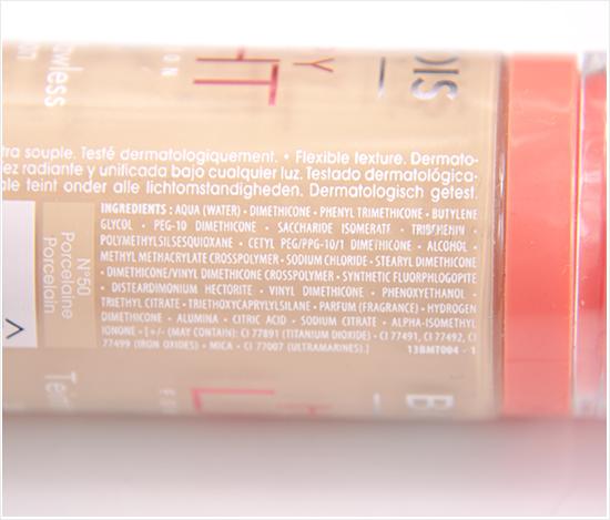 Bourjois-Happy-Light-Foundation-Ingredients