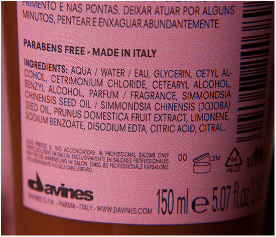 Davines-Natural-Tech-Replumping-Conditioner-Ingredients