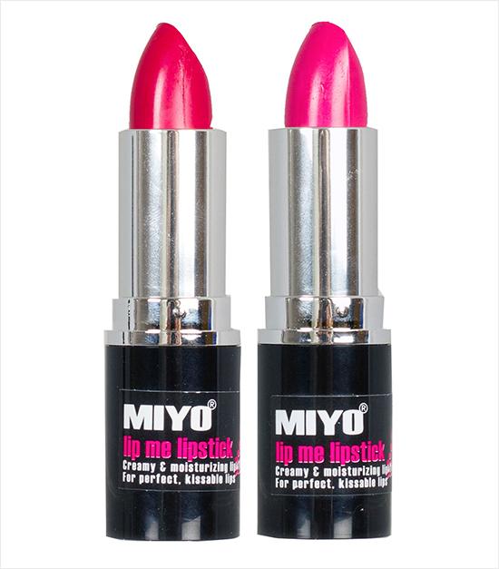MIYO All About Me & L'Amore Lip Me Lipstick