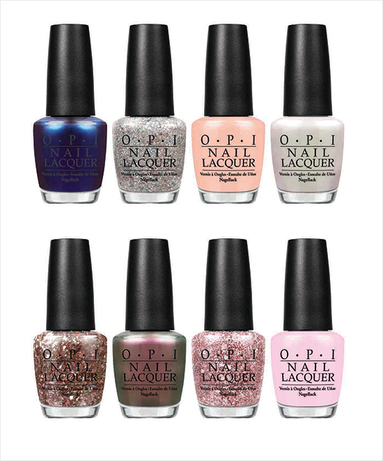 OPI Muppets Most Wanted 2014 Soft Shades