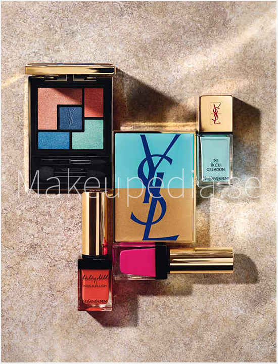 YSL Summer 2014 Makeup Look
